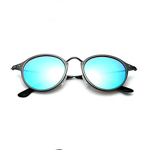 VEITHDIA bleu Lunettes Homme noir de soleil RrRwqYa