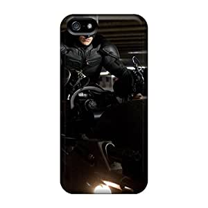 Flexible Tpu Back Case Cover For Iphone 5/5s - The Dark Knight Rises Batman