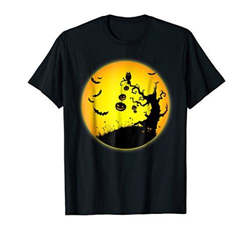 Halloween Night Scary Tree Hill T-Shirt