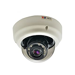 IP Camera, 4.90 to 49.00mm, 1.3 MP, 720p