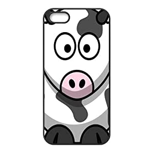 Custom Cow Back Cover Case for iphone5,5S JN5S-241