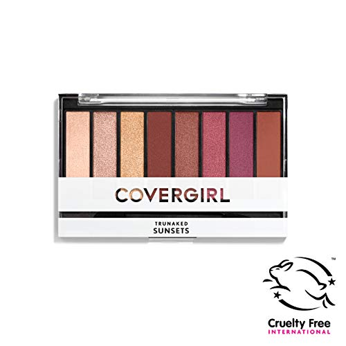 Covergirl Trunaked Palette Expansion Eye Shadow Palette, Sunsets 830, 0.22 Ounce, Pack of 1