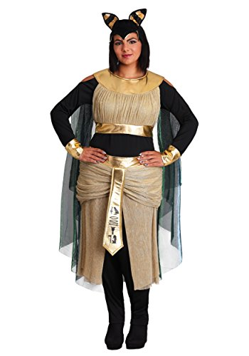 Women's Plus Size Bastet Goddess Costume -