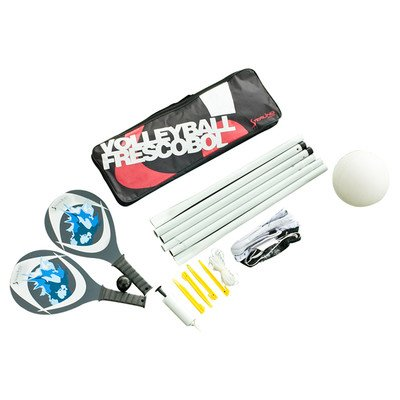 Sterling Sports Volleyball/Wooden Paddle Ball Combination Set