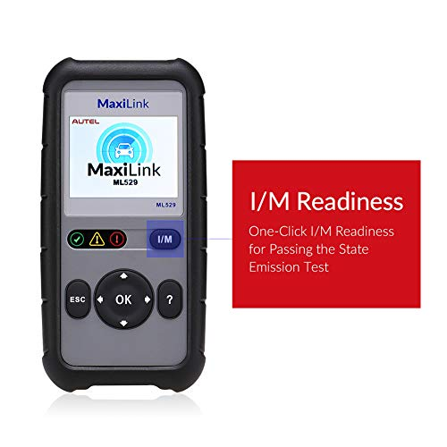 Autel OBD2 Scanner Maxilink ML529 Check Engine Code Reader with Full OBD2 Functions for Turning off Car Check Engine Light by Autel (Image #3)