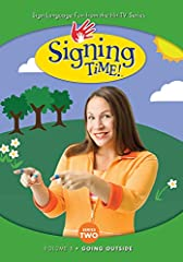 """Signing Time was created for children, but people of all ages use it to learn American Sign Language. Introduce your child to over 1,000 signs and learn how to put signs together in sentences. A mom wanted her child, who was deaf, to be able..."