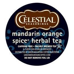 Celestail Seasonings Mandarin Orange Spice K-Cup For Keurig Brewers (Keurig Orange Spice Tea compare prices)