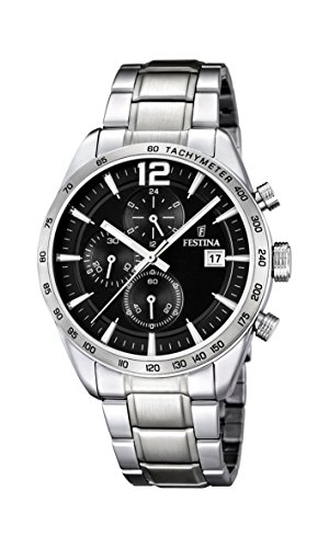Festina Chrono Sport F16759/4 Mens Chronograph Solid Case