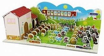 Unbekannt Kaufen 3d Puzzle Mini Plants Vs Zombies Spielzeug Für Kinder Mehrfarbig Amazon De Spielzeug