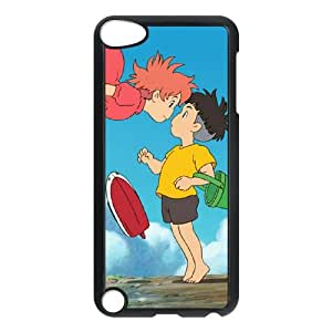 Ponyo iPod Touch 5 Case Black Phone cover J9724505