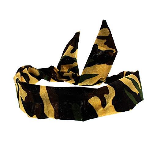 Bunny Camo (Zac's Alter Ego Camouflage Print Vintage Style Wire Headband)