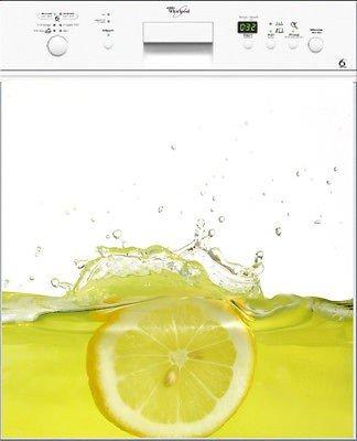 Stickersnews-MS-Electrodoméstico lavavajillas de juguete, diseño de cocina, diseño de limón
