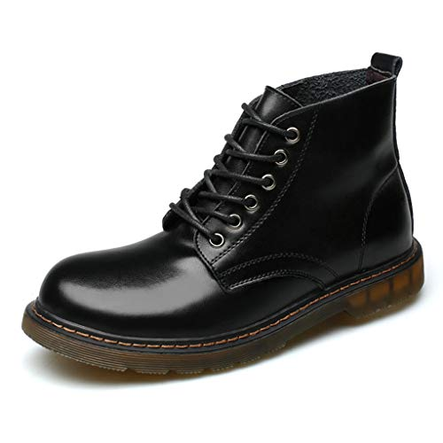 - Giles Jones Combat Boots Mens Fashion Retro Soft Wear-Resisting Motorcycle Boots