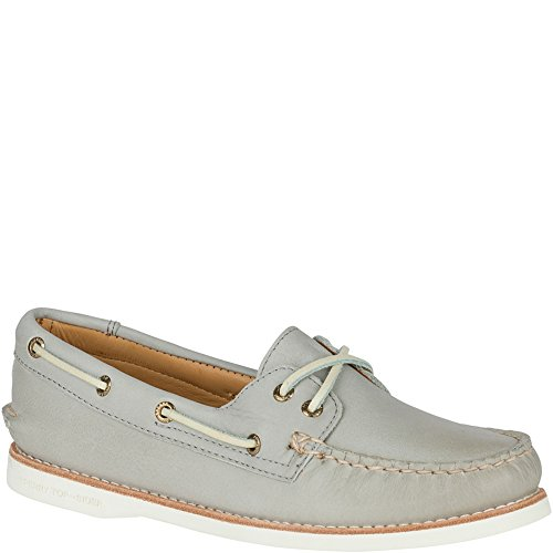 Grey Gold Sider Shoe Top Authentic Light Men's Sperry Original Boat wU4qOzx