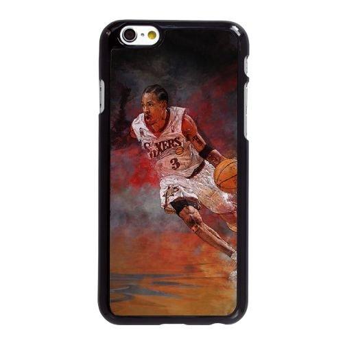 K5V39 Allen Iverson M2K2LV coque iPhone 6 Plus de 5,5 pouces cas de couverture de téléphone portable coque noire KP0WSY2JK
