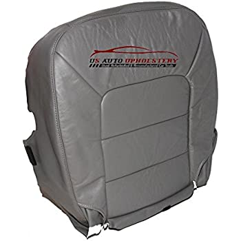 2005 Ford Excursion XLT XLS 4X4 2WD Driver Side Bottom Cloth Seat Cover Gray