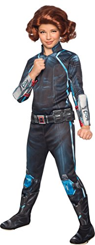 Rubie's Costume Avengers 2 Age of Ultron Child's Deluxe Black Widow Costume, Large]()