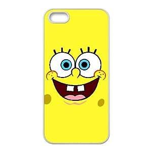 Funda iPhone 4 4s del teléfono celular de casos funda blanca Bob Esponja F4T1HL