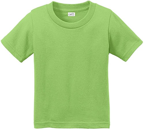 Joe's USA(tm Toddler Tees Soft and Cozy Cotton T-Shirt Size-2T,Lime