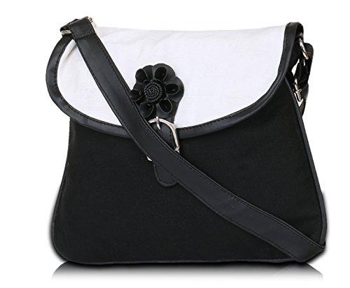 Pick Mujer La negro Cuerpo Pocket De Bolsa Cruz rwrOtq