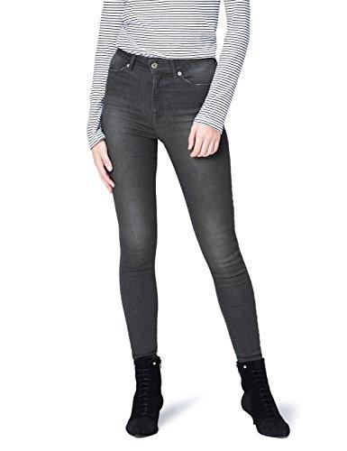 Taille Grau Haute Femme Jean Gris Skinny FIND 6nCBUwq6