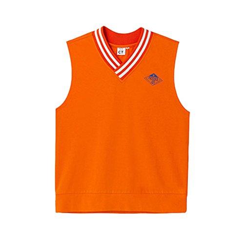 MYCT Produce48 1St Evaluation Jersey Vest Orange [並行輸入品]