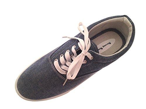 LD Outlet - Zapatillas de skateboarding para hombre Denim