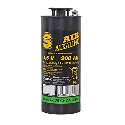 Replacement EN6 Air Alkaline Battery EB-R40 Type R40 1.5V Battery, Replaces EN6 by Cegasa USA