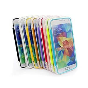 PEACH- Newest TPU Transparent Ultra-thin with Cover Can Touch Non-slip Full Body Cases for Samsung Galaxy S5/G900/9600 , Pink
