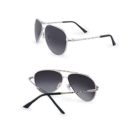 100 Anti UV Sol De Polarizadas TESITE Gafas Espejo Hombres para Gafas Black xzwv8