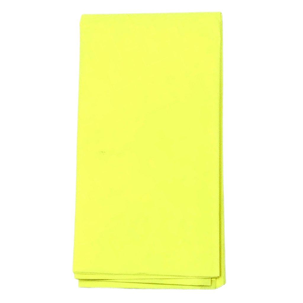 Rose Profond Sharplace 10pcs 50x50cm Fleur Emballage Cadeau Papier Artisanat Bricolage Papier Emballage V/êtement