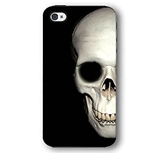 Human Skull For HTC One M7 Case Cover Armor Phone Case