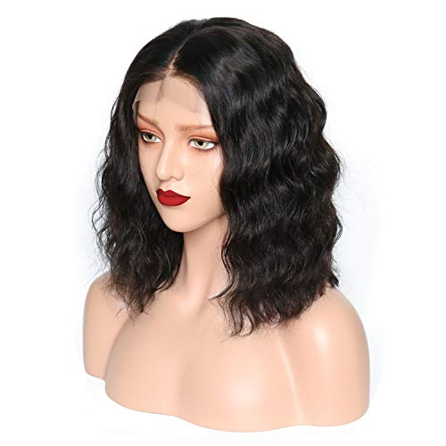 Plucked Lace Front Human Hair Wigs For Black