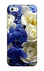 Hot 2831185K38067289 Shock-dirt Proof Flower Case Cover For Iphone 5/5s
