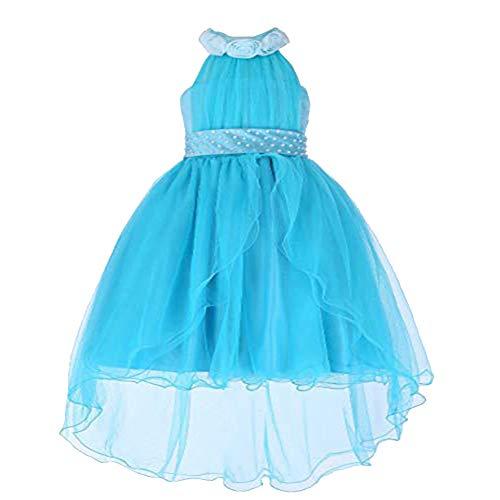 ADHS Kids Dresses for Girls Wedding Bridesmaid Pageant Dresses for Children Sundress