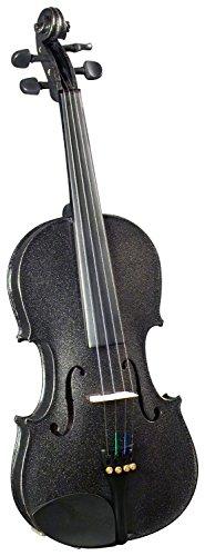 Cremona SV-75 Premier Novice Violin Outfit - Sparkling Black - 4/4 Size by Cremona