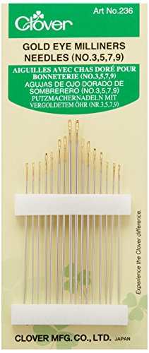 Eye Gold Needles (Clover Gold Eye Milliners, No. 3-9)