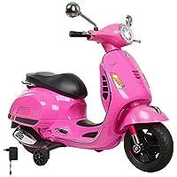 Jamara Vespa Moto para Niños Color Rosa 460349