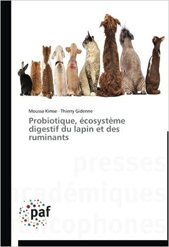 Livre gratuits Probiotique, écosystème digestif du lapin et des ruminants pdf, epub