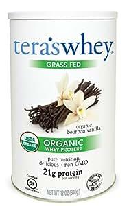Tera's Whey Organic Protein, Bourbon Vanilla,12 oz