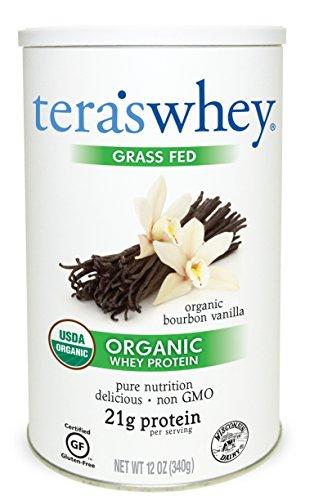 Tera's Whey Organic Protein, Bourbon Vanilla,12 oz ()