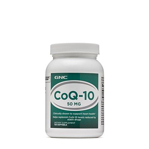 GNC CoQ-10-50mg, 120 Softgels, Supports Heart Health