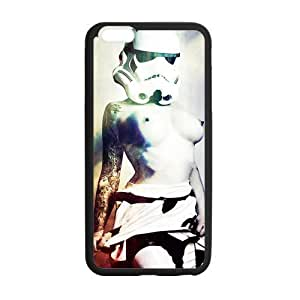 Star Wars, iphone6 Cover, iphone 6 TPU Gel Case, iphone 6 Skin, Custom TPU iphone 6g Back Case, 4.7 inch, Black/White