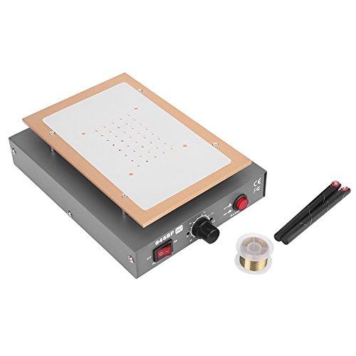 (Screen Separator- LCD Touch Screen Separator Platform - 110V 7IN LCD Screen Vacuum Separator for Mobile Phone Split Screen Repair Machine US Plug Black (Grey))