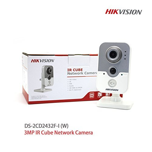 Price comparison product image Hikvision International version DS-2CD2432F-IW 4mm 3MP Indoor IR Wifi Cube Camera