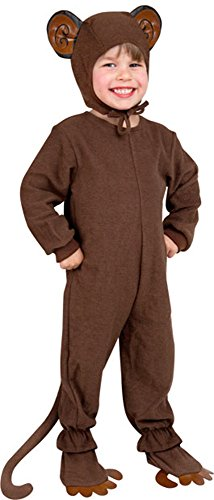 Cuddly Monkey Toddler Costumes (Toddler Monkey Costume -Toddler (2T-4T))