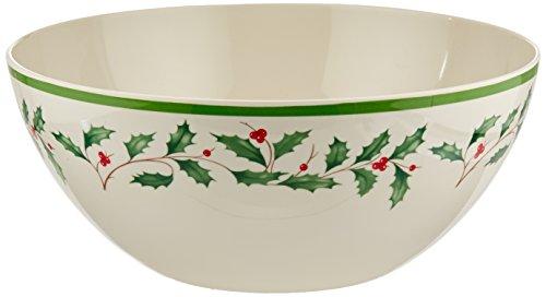 Lenox Holiday All Purpose Bowl - Lenox Holiday Melamine Serve Bowl