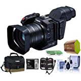 Canon XC10 4K Professional Camcorder - Bundle Video Bag, 32GB Cfast Card, Cleaning Kit, Spare Battery, Memory Wallet, Card Reader