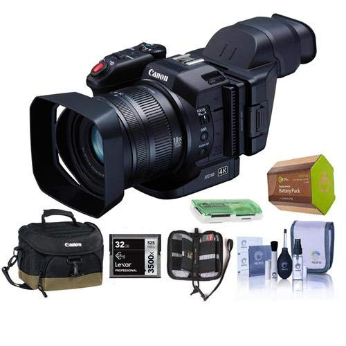 Canon XC10 4K Professional Camcorder - Bundle with Video Bag