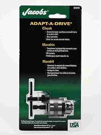 Amazon.com: Jacobs Chuck 30248d adapt-a-drive Chuck, 0.25 ...